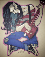 Marceline with a Picasso Twist by Rvalenzuela80