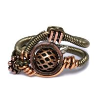 Armor Steampunk Ring by CatherinetteRings