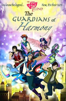 The Little Pony Legend, The Guardians of Harmony by MaggiesHeartLove