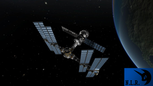 Kerbal Orbital Research Station by ScarletLightning565