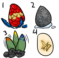 Moar Adoptable Eggses (CLOSED) by remnants-of-life