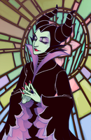 Stained Glass by Rokuri