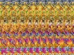 Ganesh Stereogram, fragment 1 by 3Dimka
