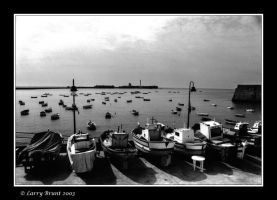 Boats at Cadiz by inessentialstuff