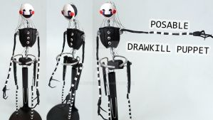 Drawkill Puppet Posable Figure by ArtzieRush
