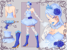 Blue Rose: costume redesign by MissMeggsie