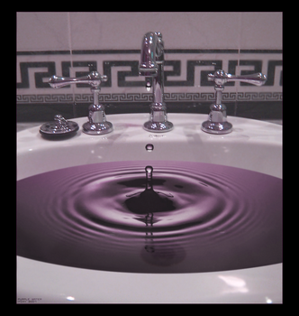 Purple Water by iitchyy