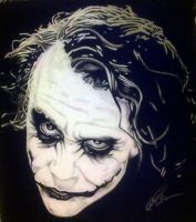 Heath Ledger - Joker by BlackhawksWin76