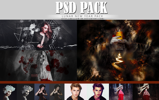 Lunar New Year PSD Pack by William-BR