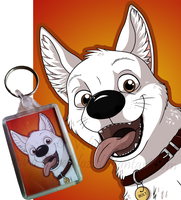 Bolt Keyring by Velvet-Loz