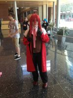 Ikasucon 2013: Grell Sutcliff by GoodDokCosplay