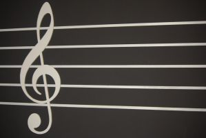 Music Treble Clef Stock by AnimeLoverSam