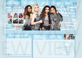 Free Layout ft. Little Mix #01 by BebLikeADirectioner