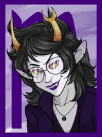 Indigo Vriska by Zorn-Sable