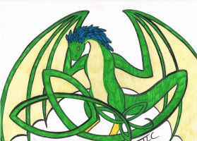 Dragon Knot by Ferngirl