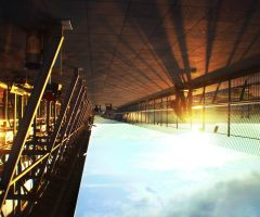 stuttgart airport - in the air by thenata