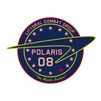 LC-08 Polaris mission patch by thefirstfleet