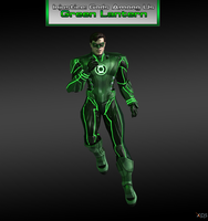 Injustice Gods Among Us: Green Lantern (Regime) by XNASyndicate
