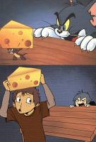 Tom and Jerry by onac911