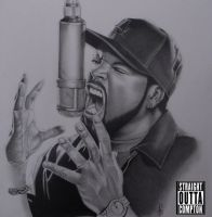 ICE CUBE STRAIGHT OUTTA COMPTON by ARTIEFISHEL79