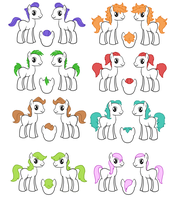 Male Manes and Tails by Sugarcup91