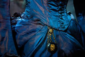 Enchanting blue dress by Black-Cloud-Ducan