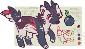 [Adopt - closed] BerrySeeds by lithxe