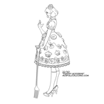Lolita Fashion 22 Pastry Queen by AlbinoGrimby