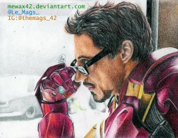 IRON MAN by Mewax42