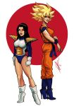 Female Dbz by scottssketches