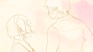 Naruto AU - ~Gentle Words~ by Kirabook