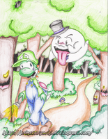The Forest of Illusion by PrincessYoshi