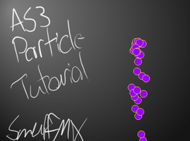 AS3 simple particle system by smurfmx