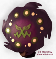 Spiritomb 3D Pokemon by bogeymankurt