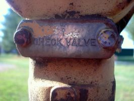 check valve by stock-deekayed