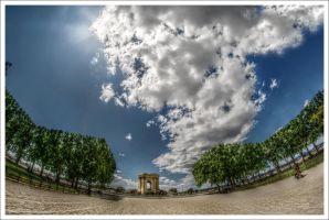 Walk in the sun.. Montpellier by Graphylight