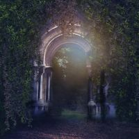 Mystical gate Premade by CindysArt-Stock