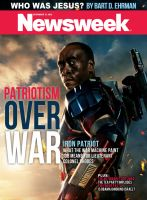 Newsweek featuring Iron Patriot/James Rhodes by nottonyharrison