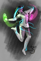 Dancing lights by Lmih