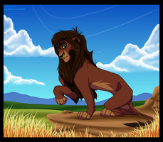 King Kovu by Lord-StarryFace