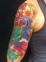 Arm-band cover-up by madamelazonga