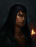 Conan Portrait by Memed