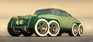 8 wheels of steel (front) by aconnoll