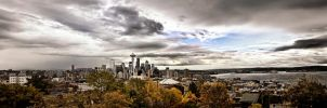 Seattle Day Panorama 001 by UrbanRural-Photo