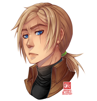 C - Nikolai headshot by zero0810