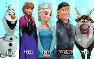 Disney's Frozen by fluffycoconut
