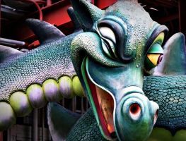 World of Motion Sea Serpent by InnsmouthFishwife