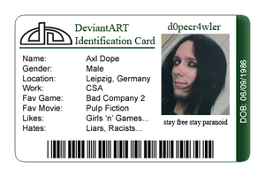 dA ID-Card by d0pecr4wler