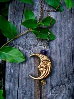 Moon Magic Necklace by EireCrescent