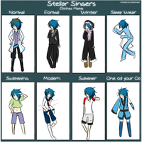 SS - Clothing Meme by MON0charms